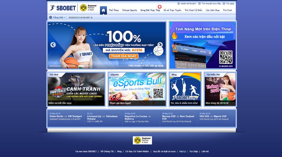 Cách đăng ký tài khoản SBOBET