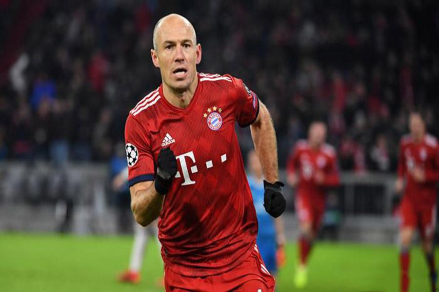Arjen Robben cầu thủ bóng xuất sắc nhất