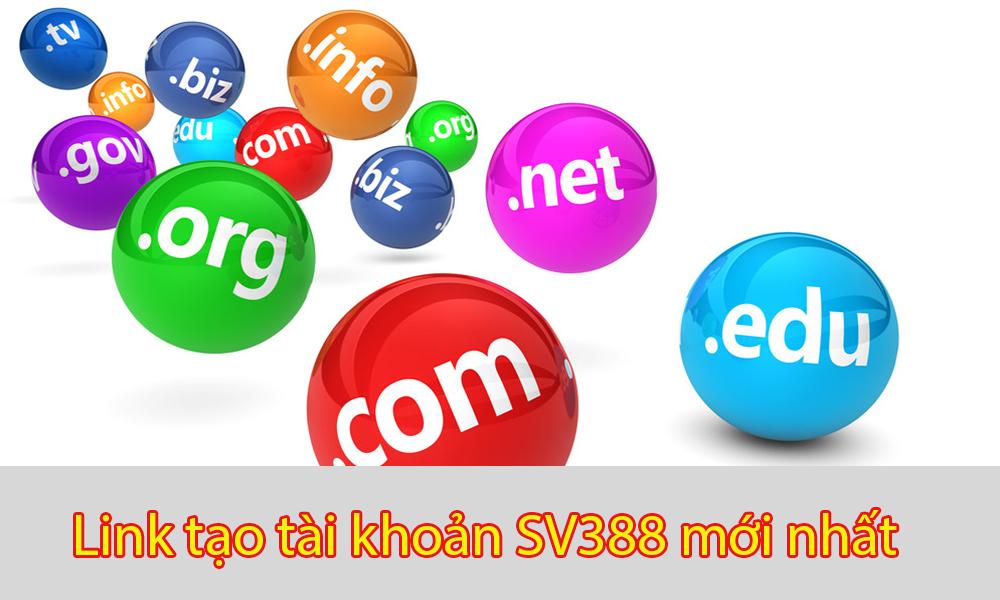 Link tạo tài khoản SV388 mới nhất 2021